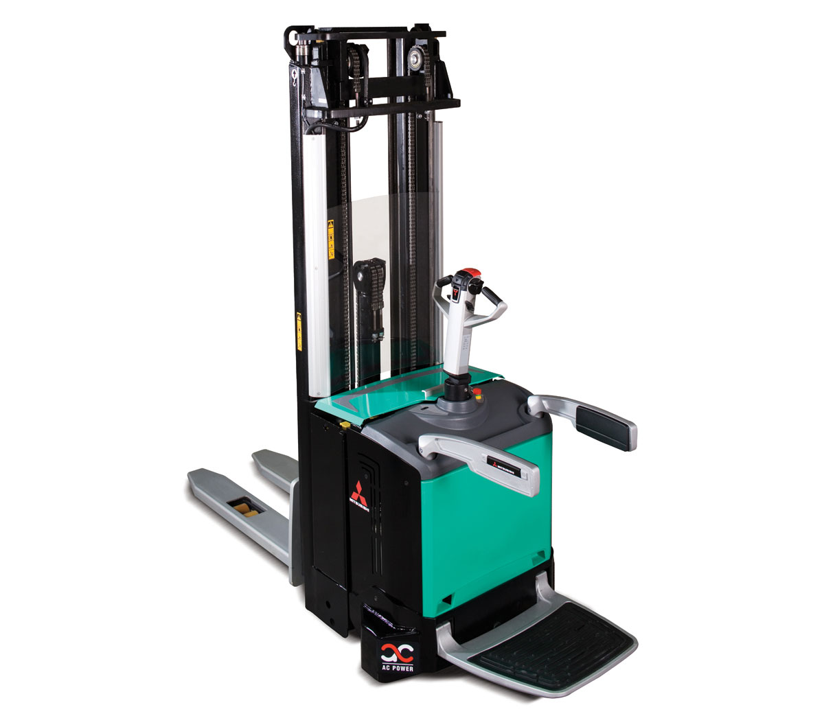 Mitsubishi sbv16n series stacker andover forktruck services for Flying spaces gebraucht
