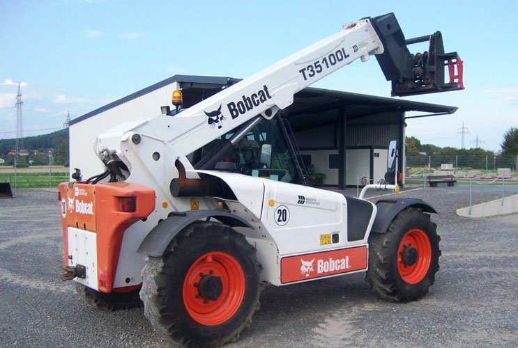 Bobcat T35100 Telescopic Handler Andover Forktruck Services