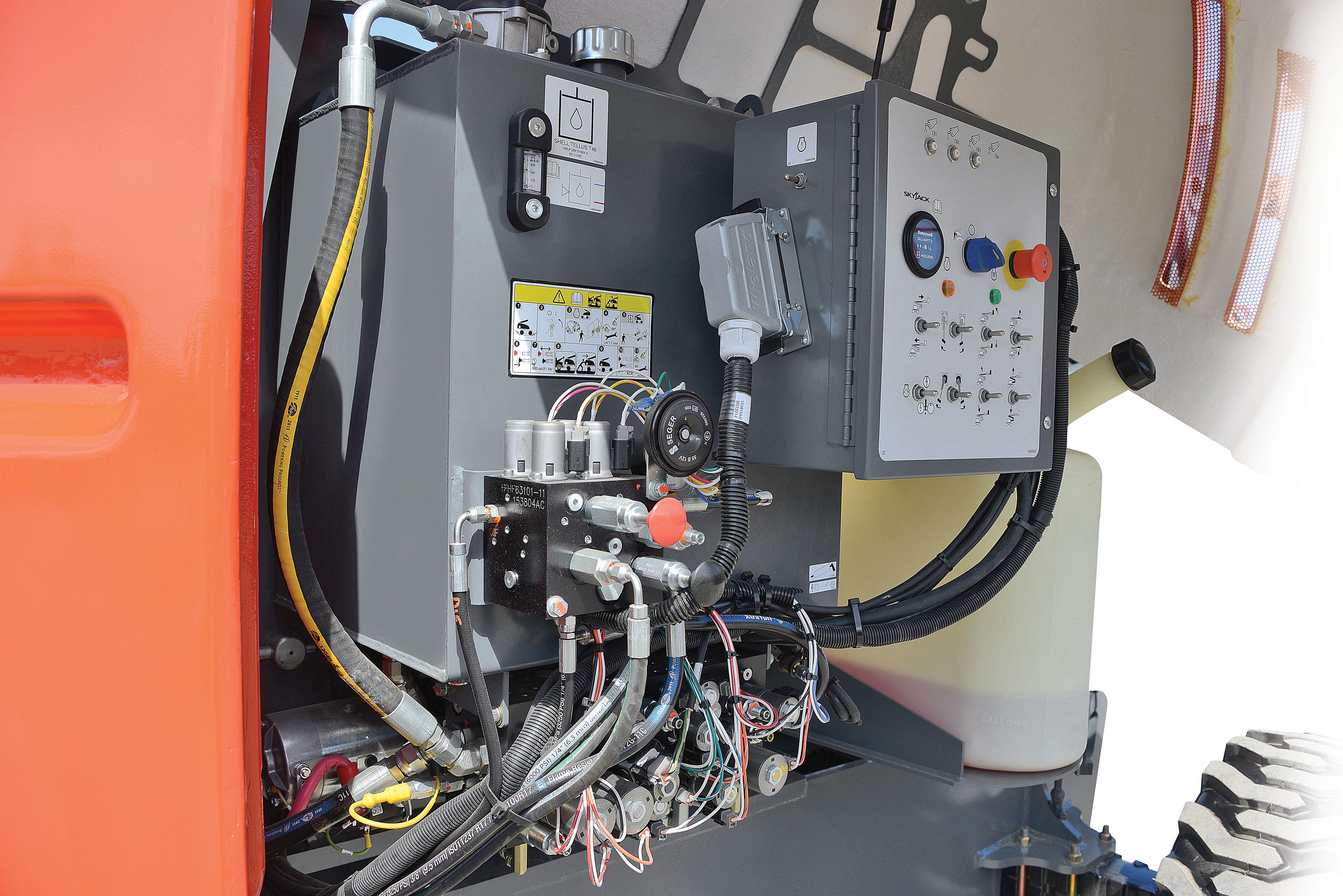 Hydraulic SystemANSI sj30 aje arje skyjack access platform andover forktruck services skyjack 3219 wiring diagram at eliteediting.co